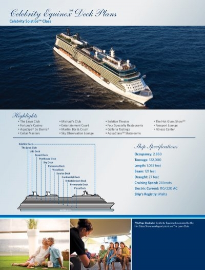 Solstice class celebrity ships constellation