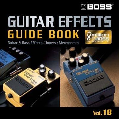 boss guitar effects guide book roland. Black Bedroom Furniture Sets. Home Design Ideas