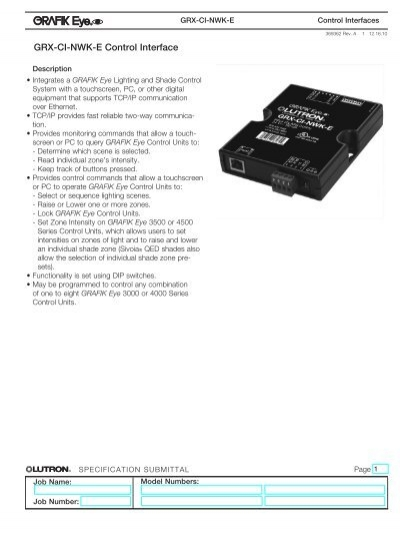 3257897 specifications standards lutron grx tvi wiring diagram at webbmarketing.co