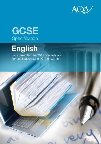 aqa gcse english literature past papers