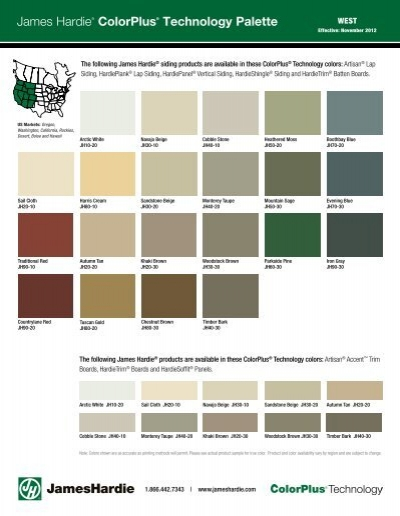 Download Product Amp Color Brochure James Hardie