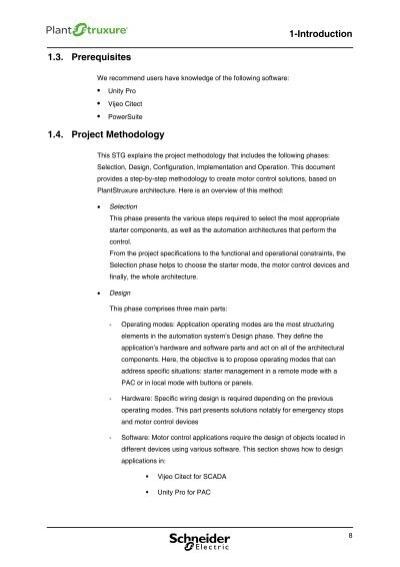 1 introduction 1 3 prere for Schneider motor starter selection guide