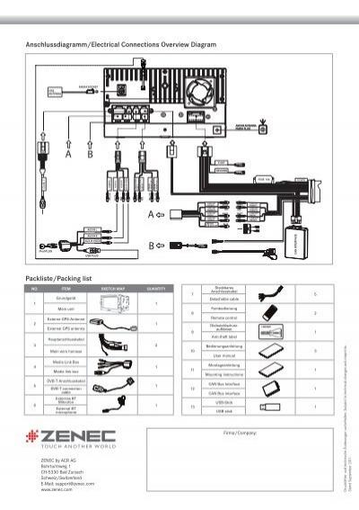 Anschlussdiagramm/Electri