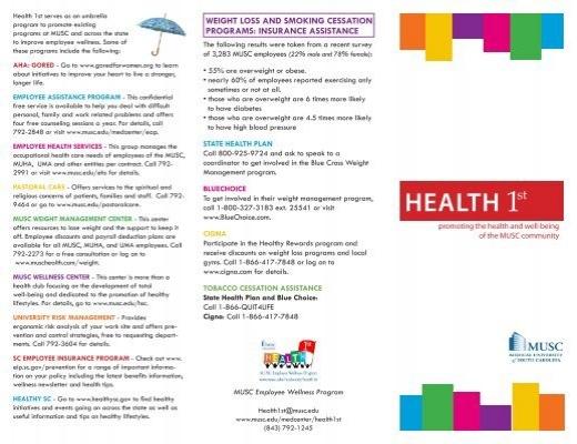 muha intranet Health 1st brochure - Medical Center Intranet