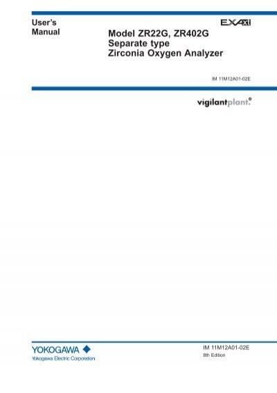 user s manual for zr22g zr402g yokogawa rh yumpu com User Guides Samples iPad Manual