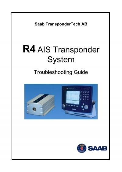 r4 ais transponder system saab rh yumpu com