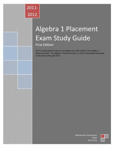 Pre-Algebra COMPASS Placement Test Practice Questions