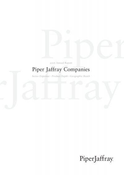 Pdf Piper Jaffray