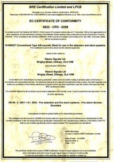 ec-certificate of conformity 0832 - cpo - 0298 - Schneider Electric