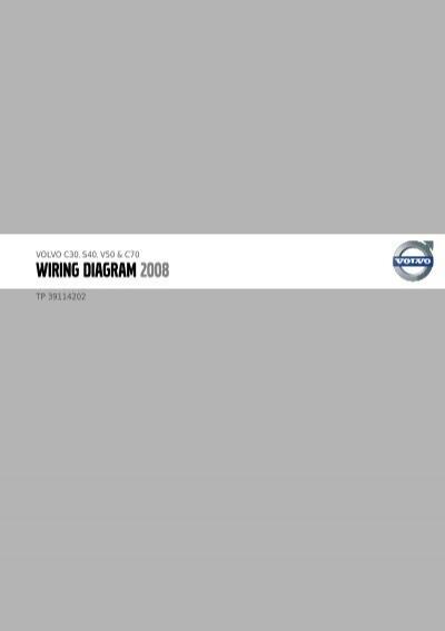 TP39114202 2008    C30       S40       V50       C70    Wiring    Diagram   pdf