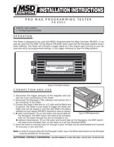 msd multi step retard wiring diagram msd wiring from