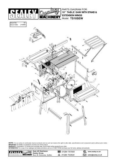 Swell Parts Diagram For 10Aaaoe Table Saw With Ccw Tools Gamerscity Chair Design For Home Gamerscityorg