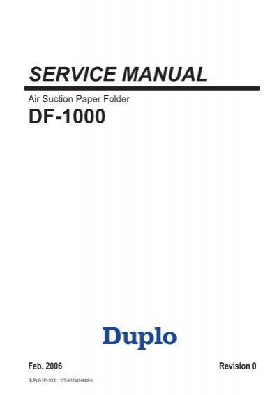 df 1000 service manual rh yumpu com Auto Repair Manual Service Station