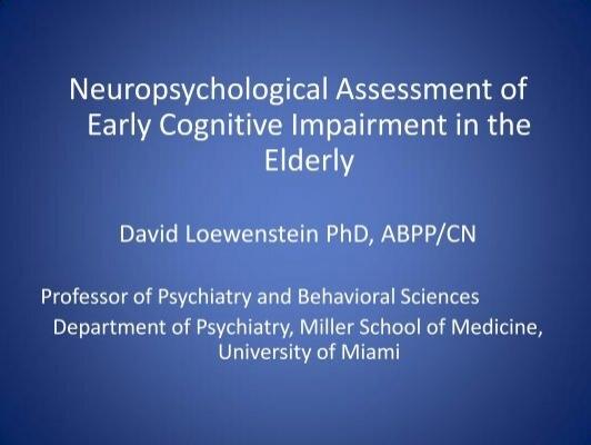 cognitive assessment for clinicians hodges pdf