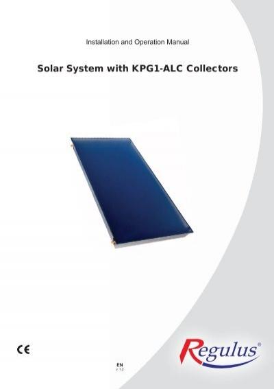 solar system with kpg1 alc collectors ambient instal rh yumpu com Solar Panel Wiring Diagram Schematic Solar Panel System Wiring Diagram