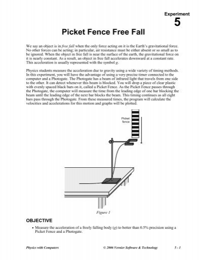 picket fence free fall