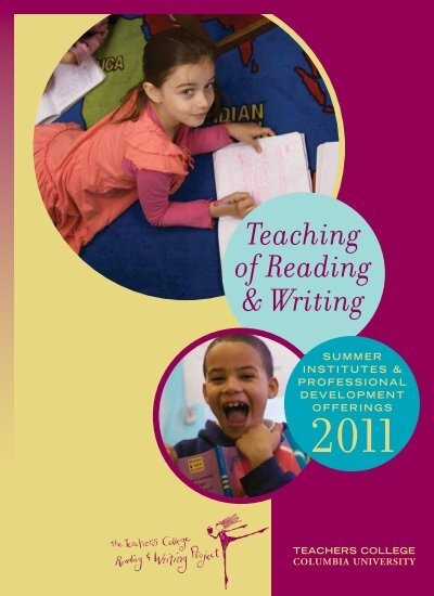 the reading writing project 2015 reading & writing  teachers college reading and writing project and support lessons from the units of study writing series (by heinemann) 28 linda hoyt's.