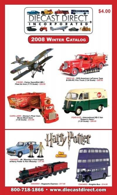 2008 Winter Catalog 800 7 8 Die Cast Direct Inc