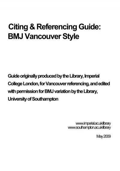 How to cite things you found in credo reference in apa style citing referencing guide bmj vancouver style university of ccuart Image collections
