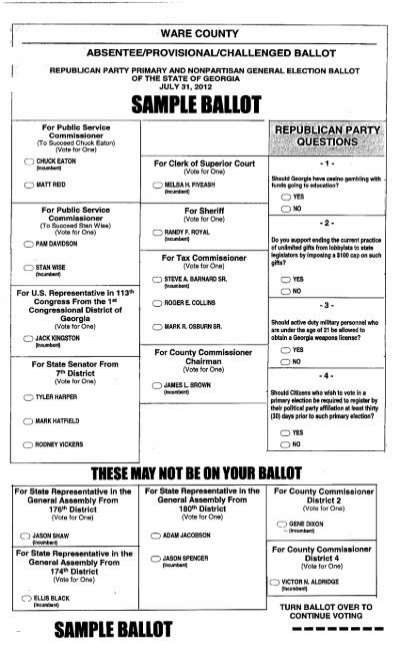 Pickens county board of elections and registration.
