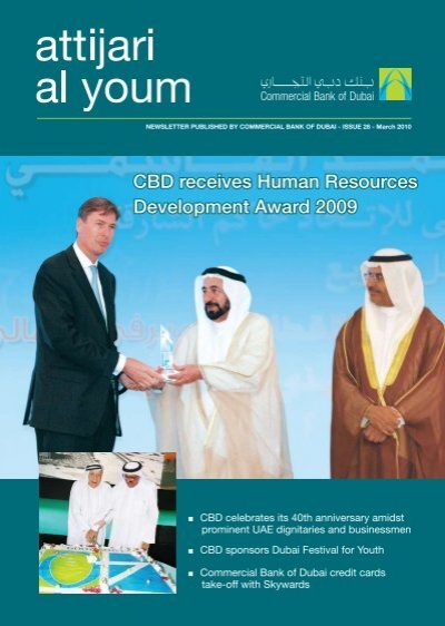 ISSUE 28 - March 2010 - Commercial Bank of Dubai
