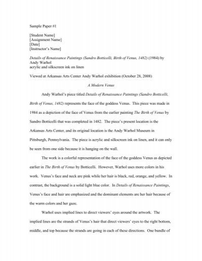 formal analysis of art thesis Thesis ideas for art history, do not follow this link or you will be banned from the site while this kind of writing can take many forms, the ultimate goals of any art history paper should be to explain the relationship between the technical form of a work and its.