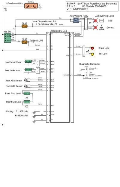 bmw r1150rt wiring diagram explained wiring diagrams rh dmdelectro co Wiring-Diagram BMW E39 BMW E46 Wiring Harness Diagram