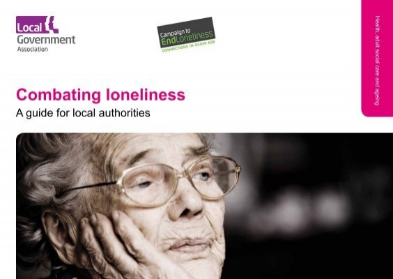 Loneliness is making older people ill. Working together, we can.