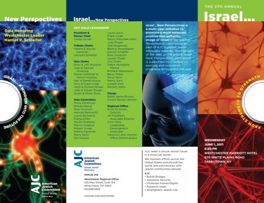 Israel… - American Jewish Committee