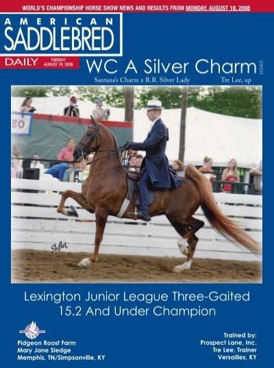 WC A Silver Charm - American Saddlebred Horse Association