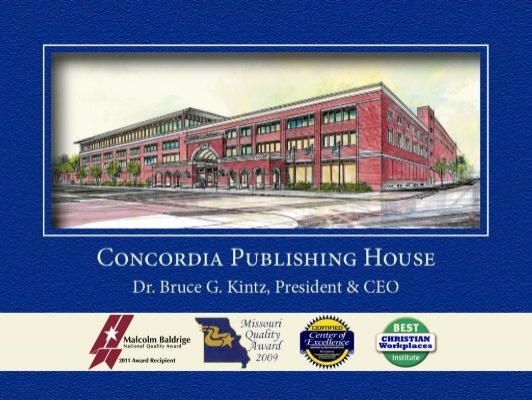 Lunch Keynote   Concordia Publishing House   Quality Texas