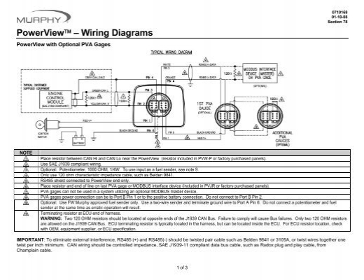 Powerview U00e2  U00a2  U00e2 Wiring Diagrams