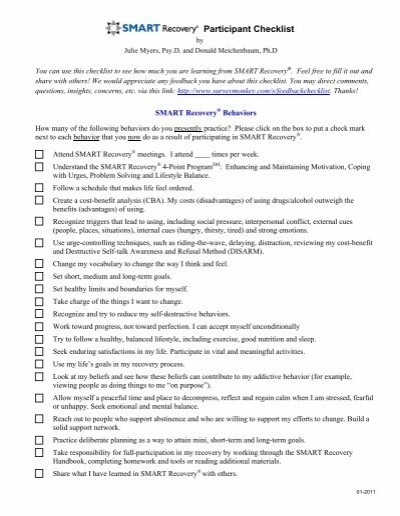 Smart Recovery Worksheets Worksheets Releaseboard Free