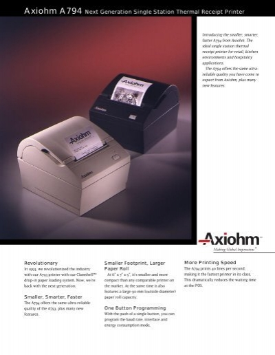 AXIOHM A DRIVER DOWNLOAD