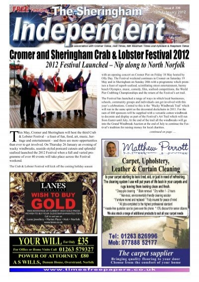 2012 Festival Launched â Nip Along To North Times Free Papers