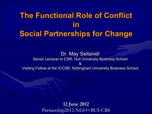 role of conflict