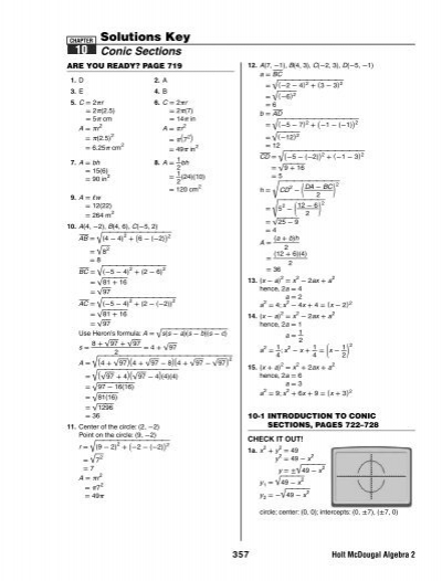 Algebra 2 chapter 2 test form b answers