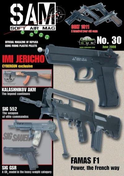 400901 Airsoft 6mm Chargeur Metal 300 billes pour Famas AEG