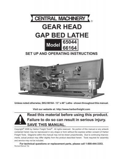 Harbor Freight Parts Catalog : Sku parts lis