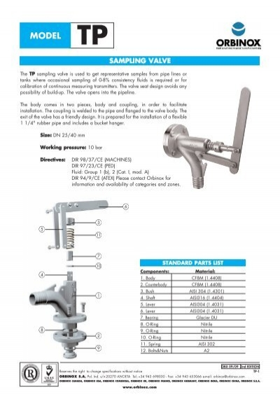 Page 4 valve sampling valve webadmin1 ccuart Image collections