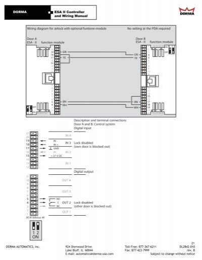 22 dorma es dorma el301 wiring diagram at bayanpartner.co