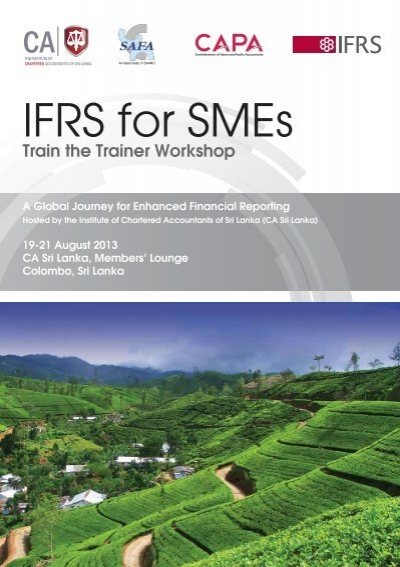 ifrs for sme Iasb issues 2015 amendments to the ifrs for smes amendments to the standard recognition and measurement presentation and disclosure guidance or.