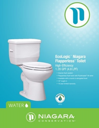 EcoLogic™ Niagara Flapperless® Toilet - Niagara Conservation