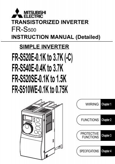 download the mitsubishi s500 vfd instruction manual mro stop rh yumpu com mitsubishi s500 manual basic mitsubishi s500 manual español