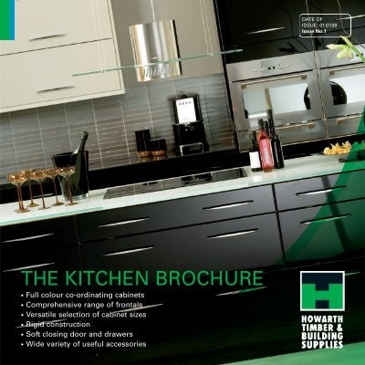 & THE KITCHEN BROCHURE - Howarth Timber