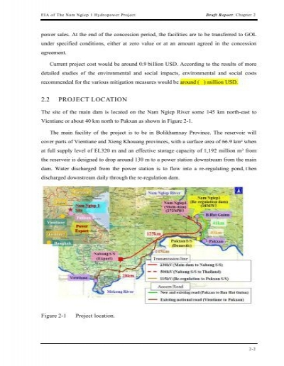 eia report on hydropower project Management co- ltd fur envirnnmental and social impact assessment ('em'sia ) 0l xayaburi hydroelectric power project, lau pdr and letter 0l' notification dated ll december 2008 we are pleased to submit herewith 26 sets of final reports for environmental linpa'ict asдcaлmenl environmental management plan.