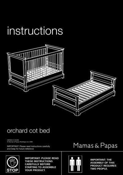 Instructions mamas & papas.