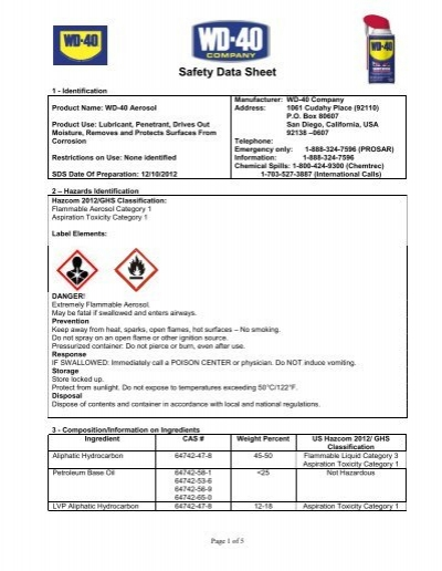 material safety data sheet pdf free download