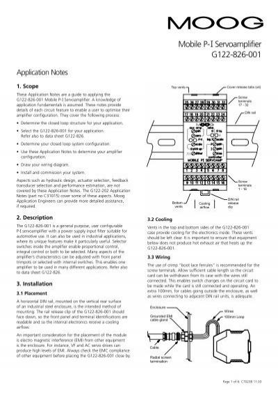 moog servo valve troubleshooting guide
