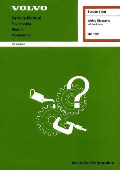 Volvo 960 (1995) Wiring Diagrams | Volvo 960 Wiring Diagram 1995 |  | Yumpu